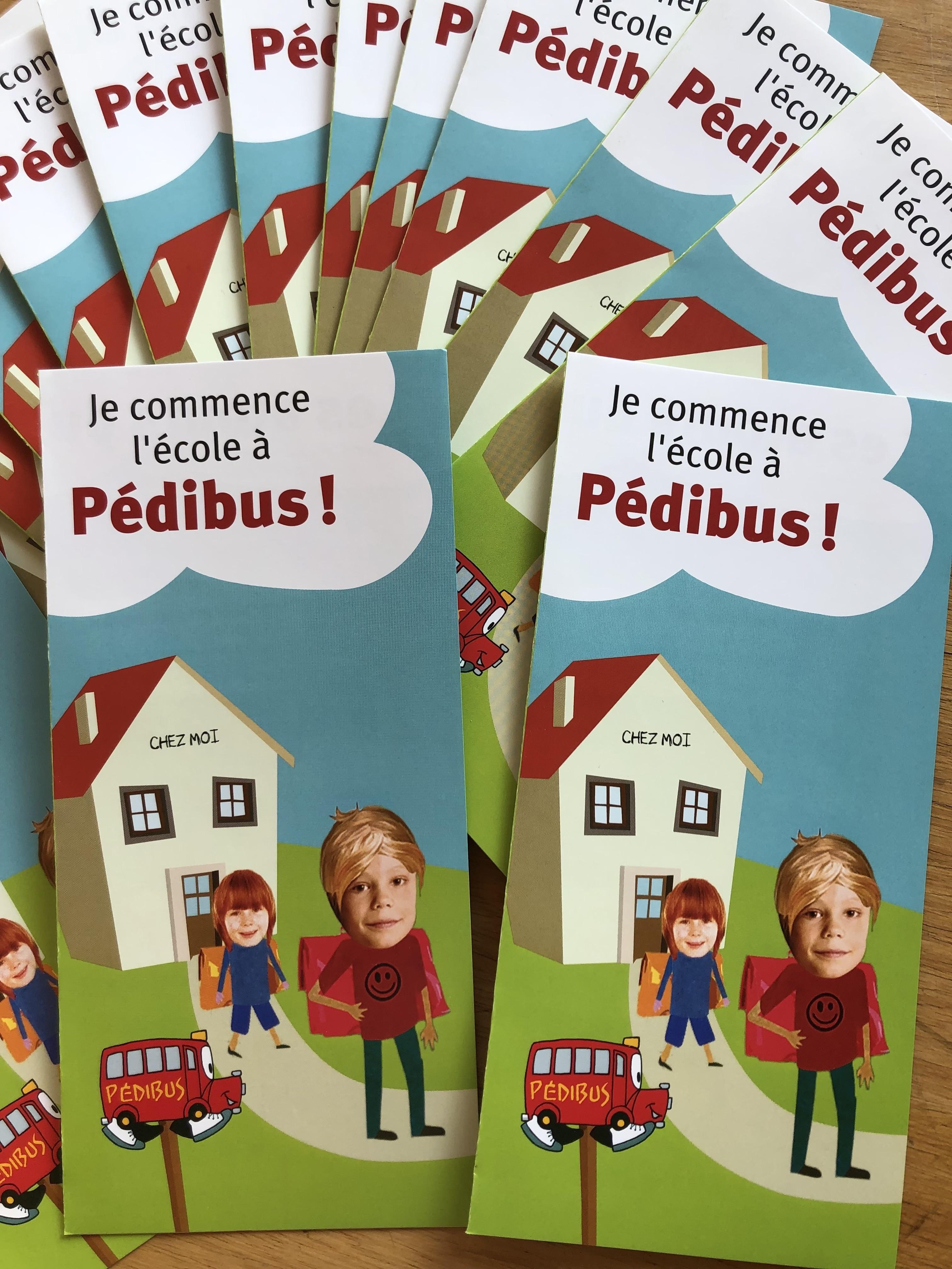 Je commence l'école à Pédibus!